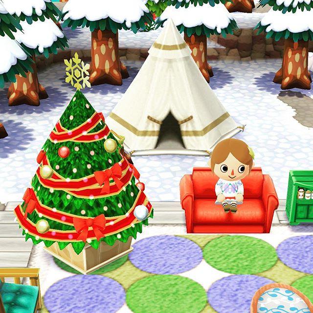 リアル我が家がツリーを出せない状態なんで、ここにツリーを設置
